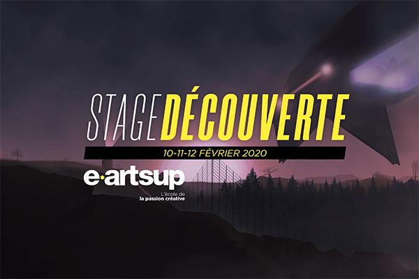 Stage Découverte x e-artsup Montpellier