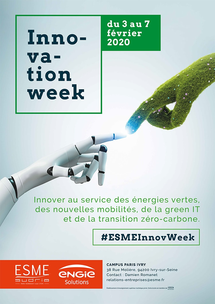 Innovation Week x ESME Sudria x Engie Solutions