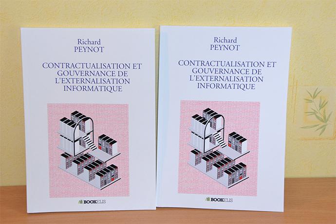 Richard Peynot, intervenant à Ionis-STM, publie «Contractualisation et gouvernance de l'externalisation informatique»