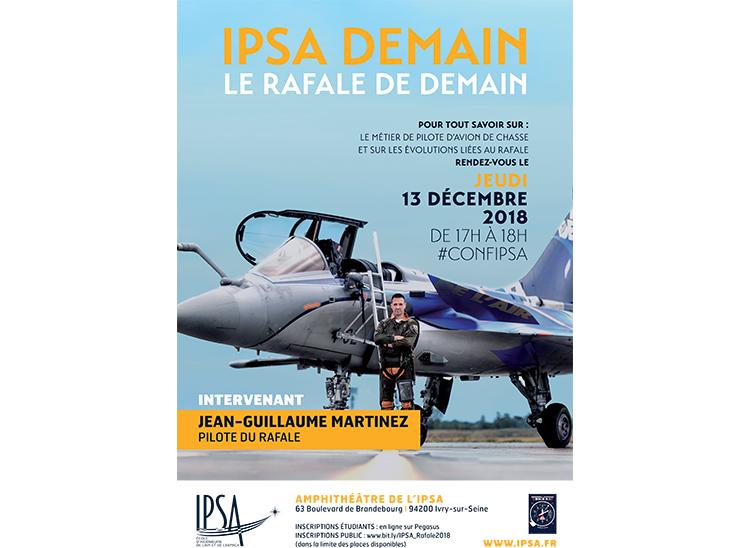 Affiche IPSA Demain - Le Rafale de demain  -IPSA