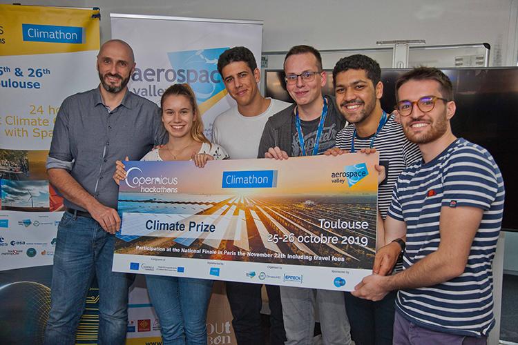 Projet SATLine, lauréat du Climathon 2019
