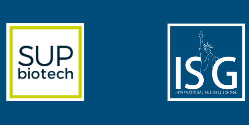 Témoignage d'Inès Duthoit (Sup'Biotech promo 2021) qui va suivre le programme du MSc Brand Management pour un double diplôme ISG-Sup'Biotech